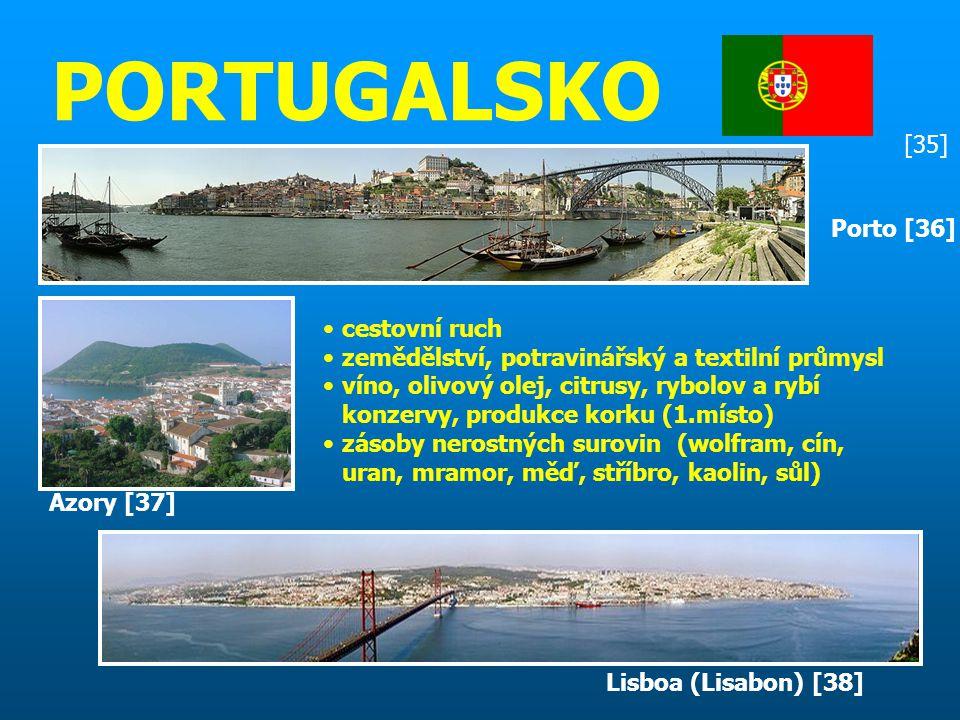 PORTUGALSKO [35] Porto [36] cestovní ruch